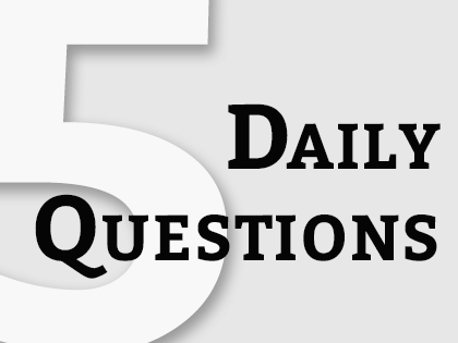 Poster: 5 Daily Questions